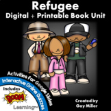Refugee by Alan Gratz Novel Study: Digital + Printable Book Unit