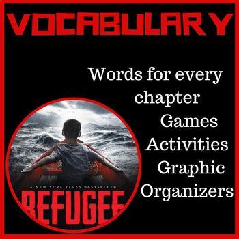 Refugee Alan Gratz Vocabulary Words and Activities
