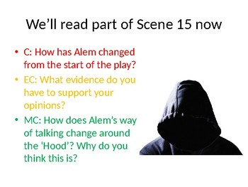 Refugee Boy Lesson 6, Scenes 15-18