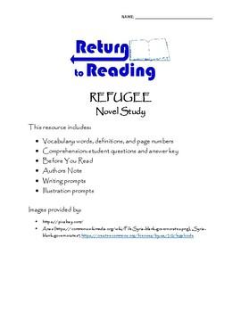 Refugee Novel Study