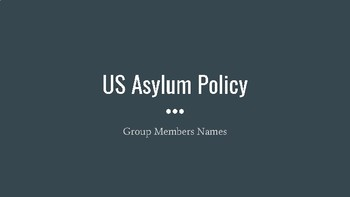 Refugee Policy Review