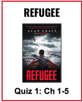 Refugee Novel Alan Gratz Quiz Chapters 1-5