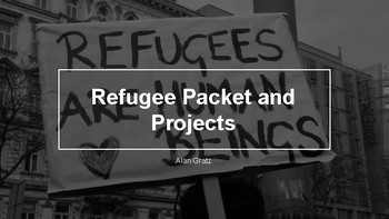 Refugee Reading Packet-Editable!