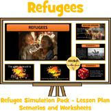 Refugee Simulation Pack - 8 Scenarios, Worksheets