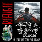 Refugee by Alan Gratz Activities and Assessments Bundle