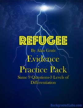 Refugee by Alan Gratz Evidence Pack