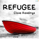 Refugee by Alan Gratz: Graphic Organizers for Fiction Clos