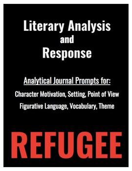 Refugee by Alan Gratz: Literary Response Journal