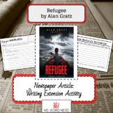 Refugee by Alan Gratz: Newspaper Article Writing Extension