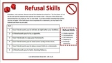 Refusal Skills Roll-A-Die 1 and 2