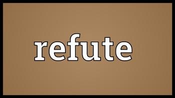 Refutation Writing Prompt