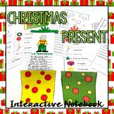 Regalo de Navidad / Christmas Present {Interactive Notebook}