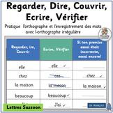 French: Regarder, Dire, Couvrir, Ecrire, Vérifier - Learn sight words! (SASSOON)