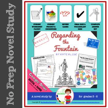 Regarding the Fountain Novel Study