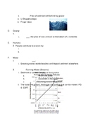 Regents Earth Science: W,E,L & D Student Packet
