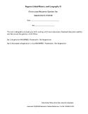 """Regents Global 10 Sp. Ed. Modified """"CRQ"""", Frameworks 10.4 No. CRQ281280"""