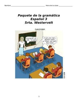 Regents Level Grammar Packet
