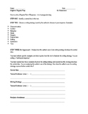 Regents Part 3 Template Organizer