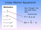 Regents Physics Review on Linear Motion
