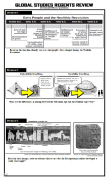 Global Regents Review Packet 1 Neolithic Revolution & River Valley Civilizations