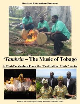 Tambrin, the Music of Tobago – 'Destination: Caribbean' Learning Bundle  #2