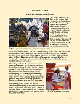 Carnival in Antigua