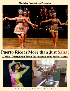 Puerto Rico is More than just Salsa – A Mini Curriculum