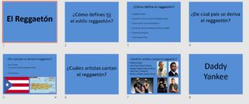 Reggaeton Unit for Music & Spanish Class / Daddy Yankee