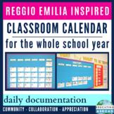 Reggio Emilia Inspired Classroom Calendar