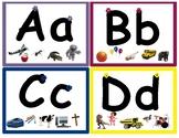 Reggio Inspired Beginner Tracing Alphabet Cards