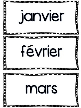 Reggio-Inspired Calendar Cards and Journal Template FRENCH VERSION