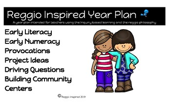 Reggio Inspired/Inquiry Year Plan for Primary Grades
