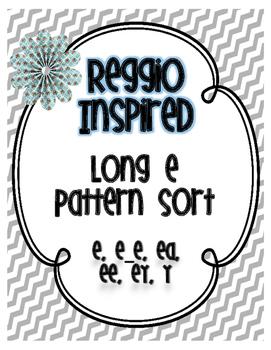 Reggio Inspired Long E Sort (Photographs)