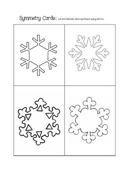 Reggio Inspired Snowy Activities