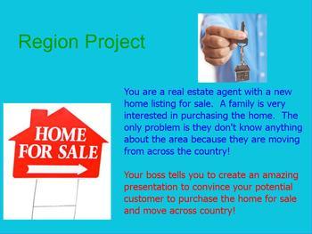 Region Diagram Project Flipchart