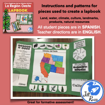 Región Oeste Colección Unit and Lapbook