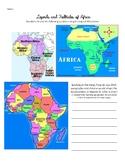 Regional Africa Folktales Worksheet