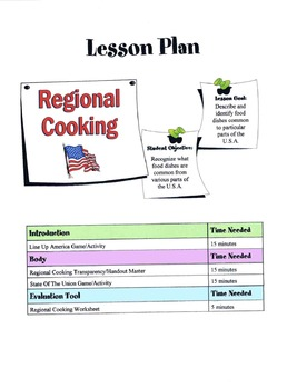 Regional Cooking Lesson