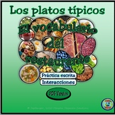 Regional Food and Meal Vocabulary / El vocabulario de la c