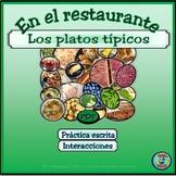 Regional Food and Meal Vocabulary - El vocabulario de la c