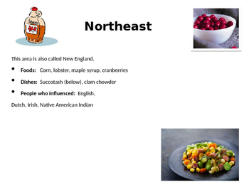 Regional Foods of the United States PPT