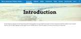 Regional Native American Website Project