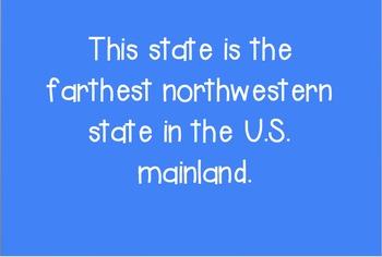 Regional U.S. Jeopardy Game