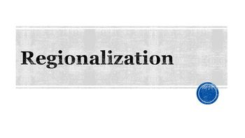 Regionalization PowerPoint
