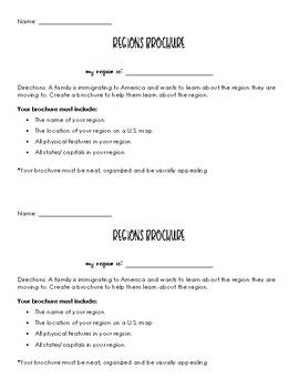 Regions Brochure Project