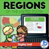 Regions Introduction Unit, Digital Version Distance Learning