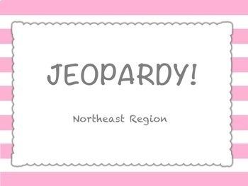U.S. Regions Jeopardy Style Review Game BUNDLE!