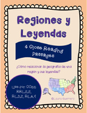 Regions and Legends of the USA/ Regiones y Leyendas de los Estados Unidos