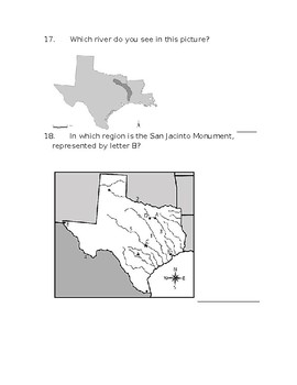 Regions and Natives of Texas Review - Kahoot