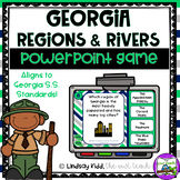 Regions and Rivers of Georgia Digital PowerPoint Game